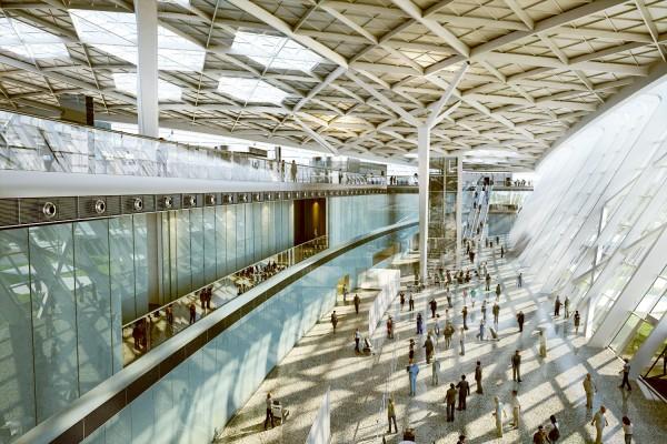 Baku-Airport-gergi-tavan
