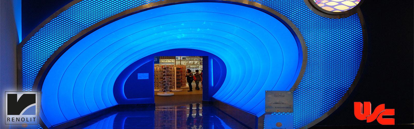 Aqua Florya AVM Tünel Geçişi