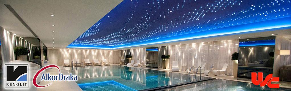 Havuz için en iyi seçim Gergi Tavan