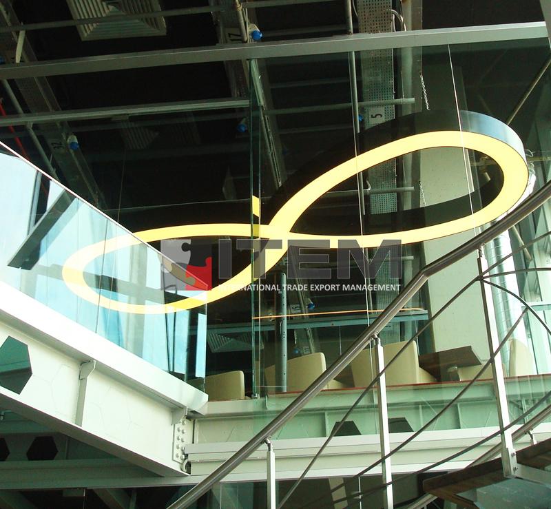 Doğan Media Center özel sonsuzluk form armatürlü barisol gergi tavan