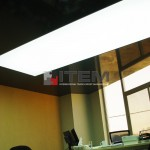 ofis lake translucent kombine gergi tavan uygulaması
