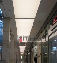 AVM gergi tavan koridor uygulaması