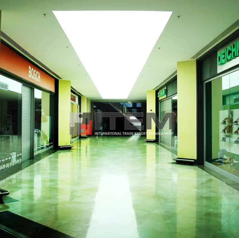 forum istanbul translucent ışıklı pvc gergi tavan aydınlatma uygulaması