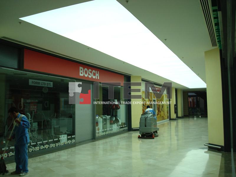 forum istanbul translucent pvc gergi tavan aydınlatma uygulaması
