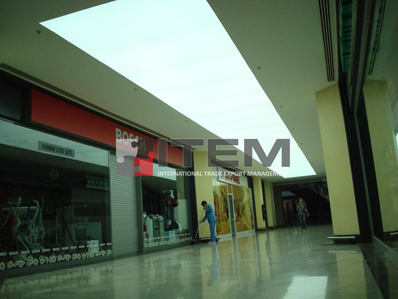 forum istanbul pvc gergi tavan aydınlatma uygulaması