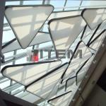 Sinpaş üçgen armatürlü gergi tavan ışık difüzörü