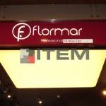 flormar mağazası barisol tavan aydınlatması