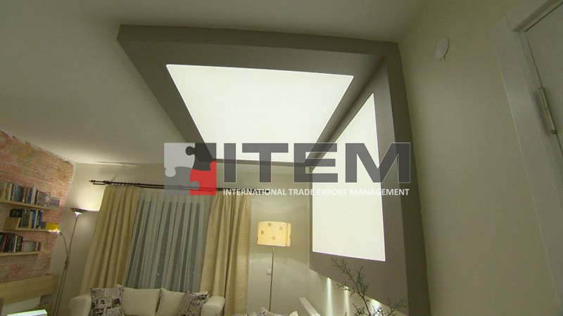 Evim şahane programı duvar-tavan kombine gergi tavan aydınlatması