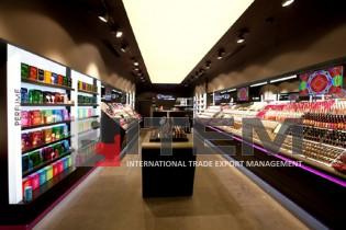 Flormar mağazası ledli gergi tavan aydınlatması