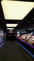 Flormar mağazası ışıklı gergi tavan aydınlatması