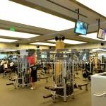Spor merkezi translucent gergi tavan uygulaması