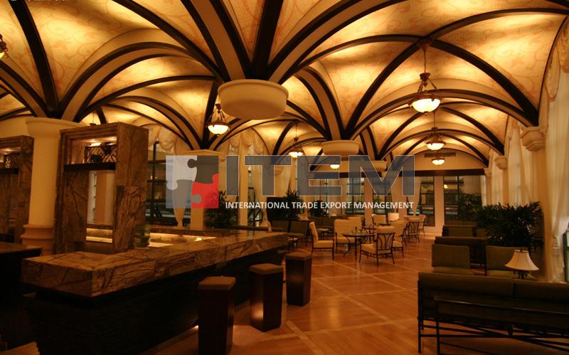 Tonoz formlu gotik gergi tavan uygulaması