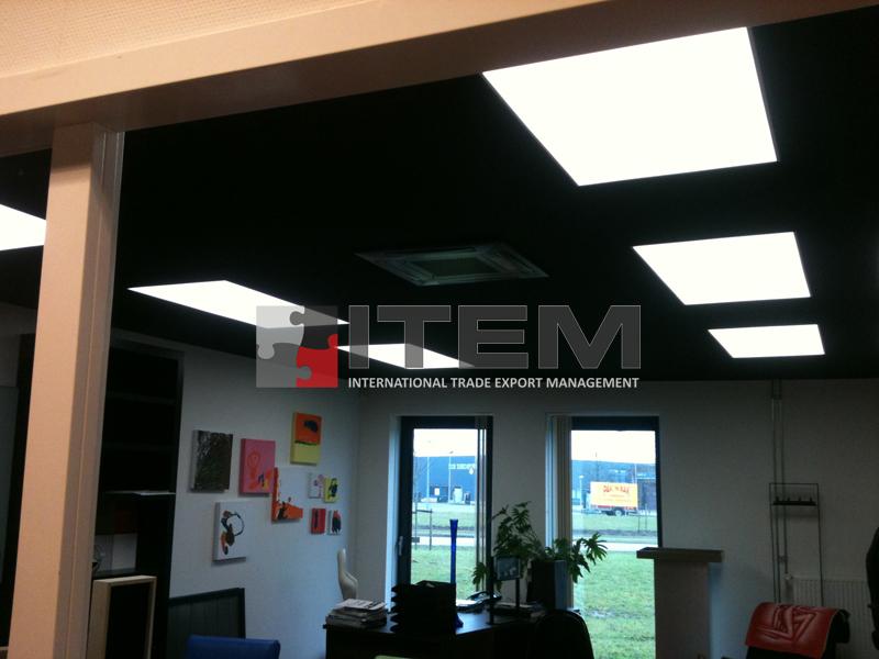 ofis barisol gergi tavan aydınlatma
