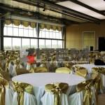 çavuşbaşı kasrı düğün salonu gergi tavan aydınlatmaları siyah lake
