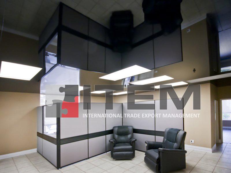 lake translucent kombine ofis gergi tavan uygulaması