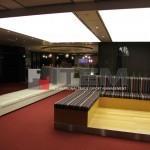 Havaalanı lounge gergi tavan uygulaması