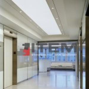 koridorda barisol aydınlatma uygulaması