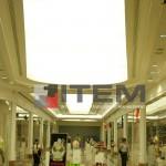 AVM eliptik formlu gergi tavan aydınlatması