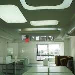 özel formlu gergi tavan uygulaması