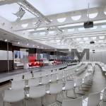 toplantı salonu ledli translucent gergi tavan aydınlatma