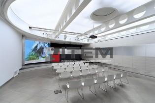 toplantı salonu translucent gergi tavan aydınlatma