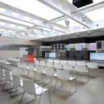 Eğitim salonu translucent gergi tavan aydınlatma