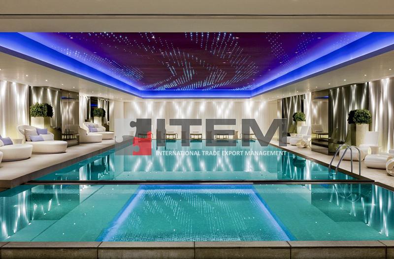 Lake-fiberli pvc gergi tavan hotel uygulaması