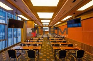 Rescate hotel restaurant translucent barisol gergi tavan aydınlatma