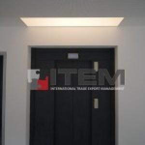 Asansör önü translucent barisol aydınlatma