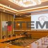 Recate hotel toplantı salonu gergi tavan aydınlatması
