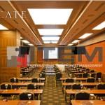 Recate hotel restaurant gergi tavan aydınlatması