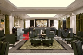 Hotel loby bar gergi tavan uygulaması