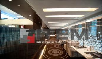 Elit yemek salonu translucent gergi tavan aydınlatması