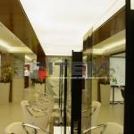 Kuaför salonu barisol gergi tavan aydınlaması