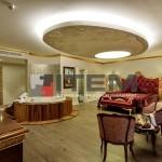 hotel avantgarde dairesel barisol gergi tavan aydınlatması