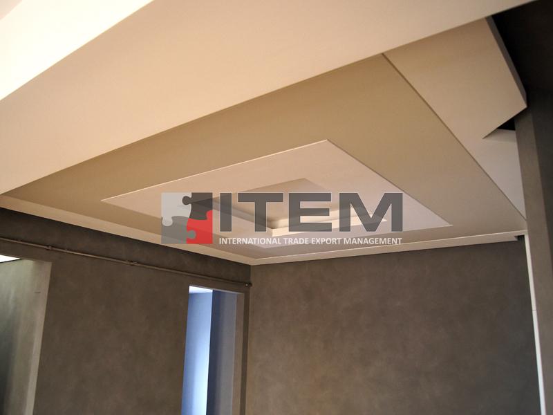 Özel tasarım ışık bantlı barisol gergi tavan aydınlatma uygulaması
