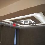 Barisol gergi tavan aydınlatma uygulaması
