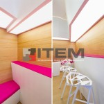 Özel tasarım barisol gergi tavan aydınlatma uygulaması 2