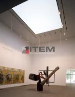 Galeride barisol aydınlatma uygulaması
