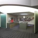 Özel formlu eliptik gergi tavan ve ışık bandı uygulaması