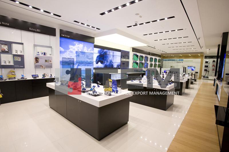 samsung mağazası gergi tavan uygulama