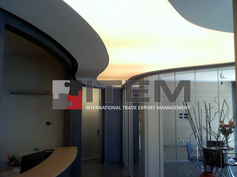 özel form gergi tavan tasarımı