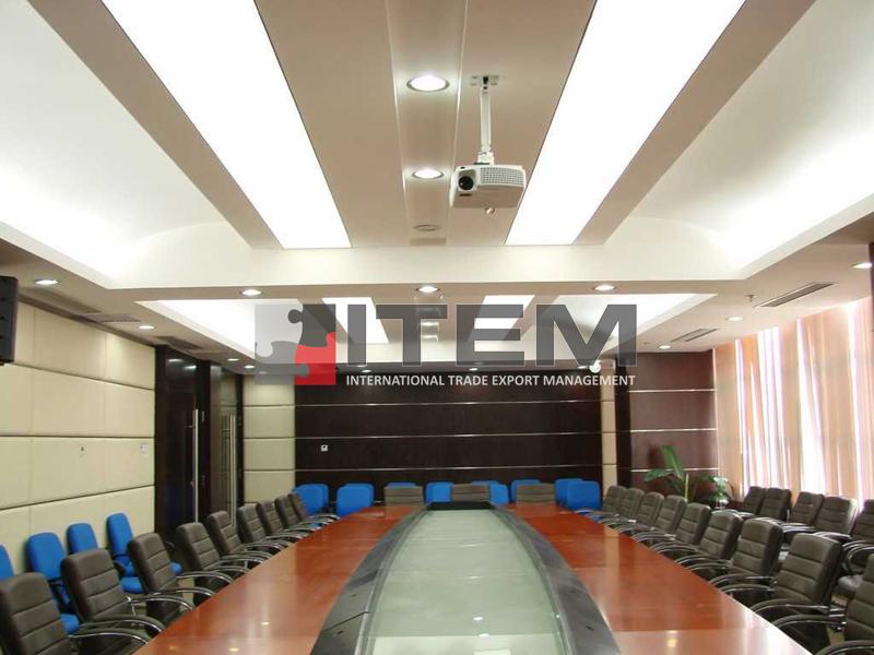 toplantı odası ideal gergi tavan aydınlatma