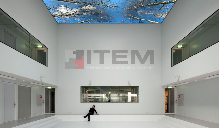 Müze ve sergi salonlarında Gergi Tavan Uygulama