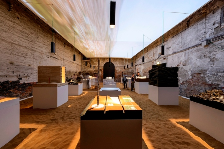 Venedik Mimarlık Bienali Fas Standı