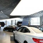 Otomobil Showroom Gergi Tavan Uygulama