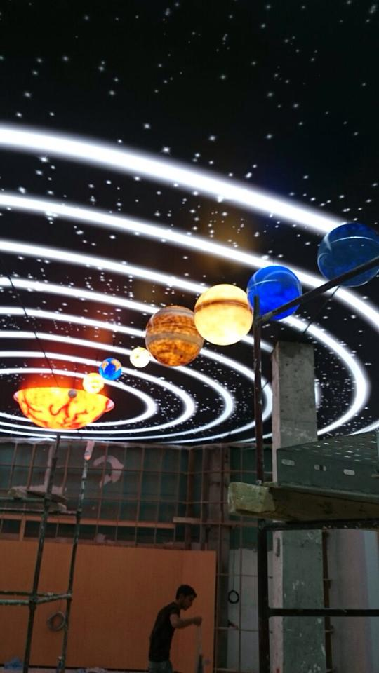 türkmenistan türkmenabat planetaryum gergi tavan projesi