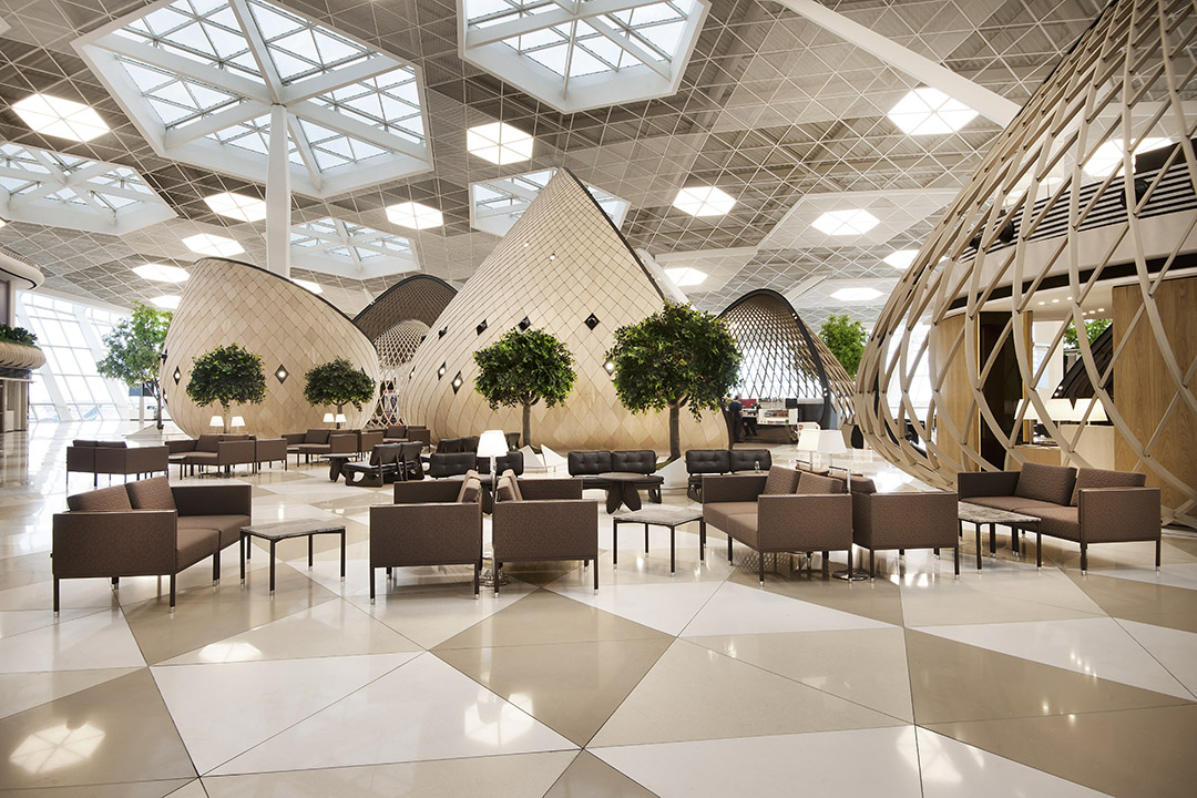 Bakü Haydar Aliyev Airport Gergi Tavan