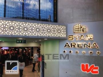 Merter Star Arena AVM Gergi Tavan Uygulamaları