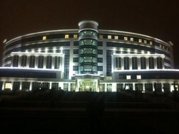 Türkmenistan Kardiyoloji Araştırma Hastanesi Gergi Tavan Uygulamaları